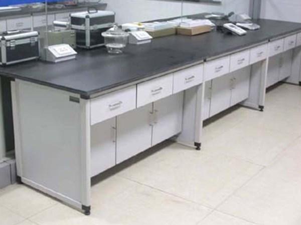圆铝木仪器台
