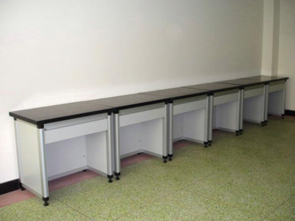 圆形铝木仪器台